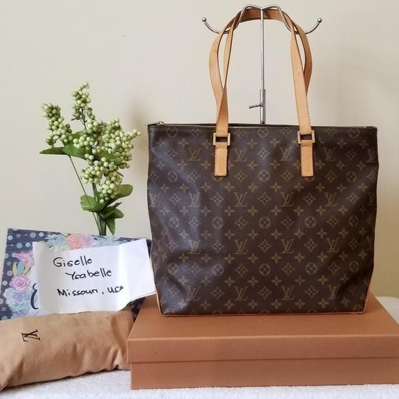 Louis Vuitton Handbags - LV cabas mezzo authentic